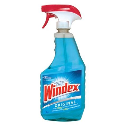 ammonia cleaning windex original 765ml glass cleaner with ammonia d lowe s canada