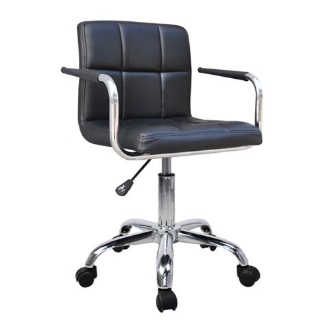 Swivel Leather Chair Office Portfolio Pertaining To by New Black Faux Leather Swivel Office Chair