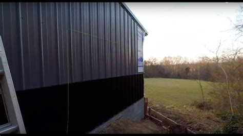 stage   shop  complete metal siding