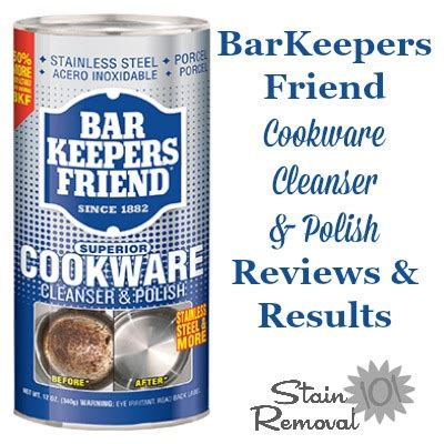 barkeepers friend cookware cleanser polish reviews pics  results