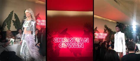 christian cowan ss nyfw runway fashion trendsetter