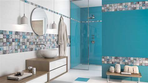 banos  azulejos azules decoracion planos banos imitacion madera de dos imagenes las mejores