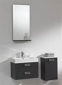 Badmöbel Für Gäste Wc : g ste wc 60 cm badm bel waschbecken set in grau oder wei ~ Michelbontemps.com Haus und Dekorationen