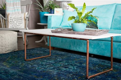 copper top coffee table crate and barrel copper coffee table bb4 vinterior vintage product
