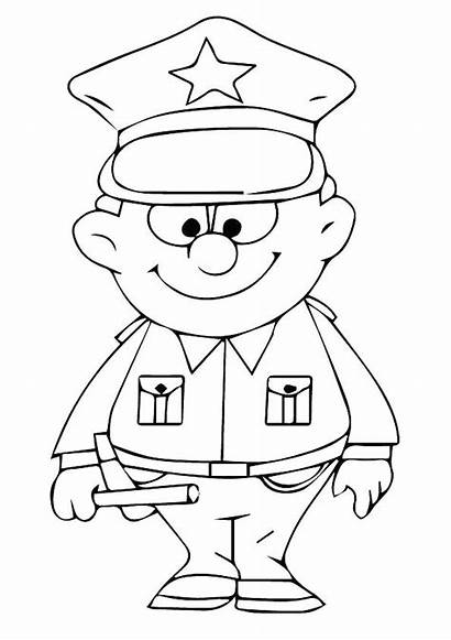Police Coloring Pages Lego Dog Officer Printable