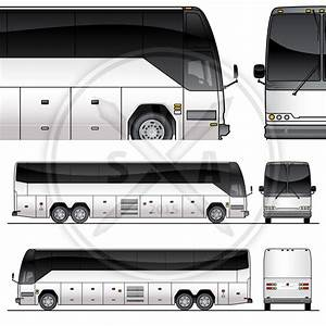 Tour bus graphics template stock vector art for Tour bus design template