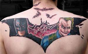 Batman by Mike Ledoux: TattooNOW