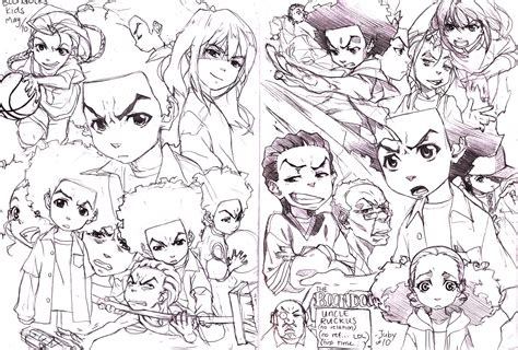 Boondocks Drawings Car Pictures
