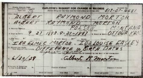 albert raymond morton  birth  parentage  lionel