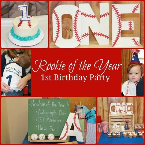 andrew s rookie of the year 1st birthday party ct