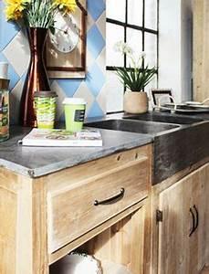 Meuble De Cuisine En Bois : meuble cuisine bois massif bas et haut made in meubles ~ Dailycaller-alerts.com Idées de Décoration
