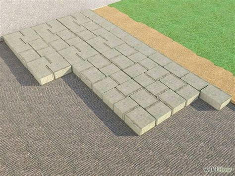 how to install pavers how to install patio pavers