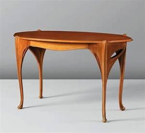 Art Nouveau Mobilier : mobilier et objets le cercle guimard ~ Melissatoandfro.com Idées de Décoration