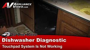 Dishwasher Diagnostic Touchpad Is Not Working Maytag