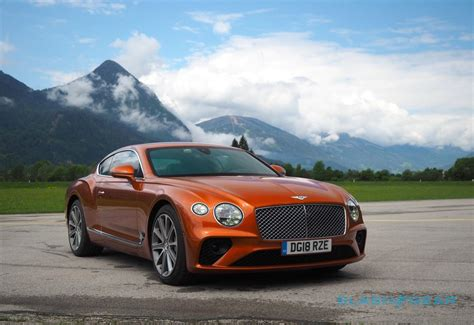 2019 bentley continental gt first return of the king slashgear