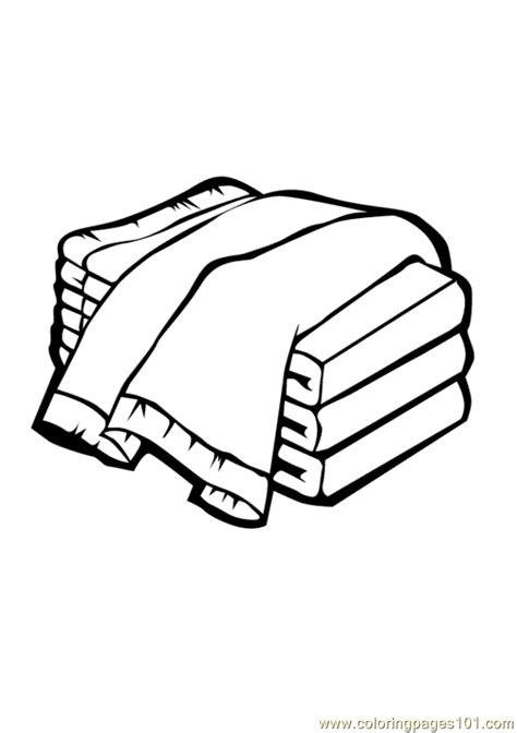 towels coloring page  towels coloring pages