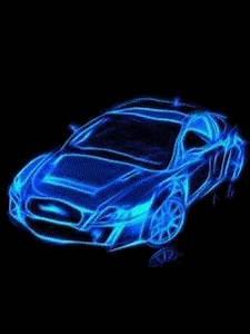 Download Neon Car 240 X 320 Wallpapers Car