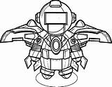 Robot Coloring Pages Roblox Robots Printable Clipartmag Cool Template Books Comments sketch template
