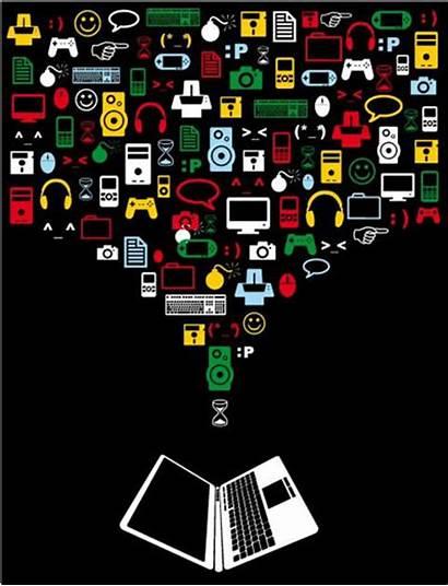 Computer Vector Poster Equipment Vectorspedia