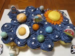 Solar Eclipse Birthday Cake