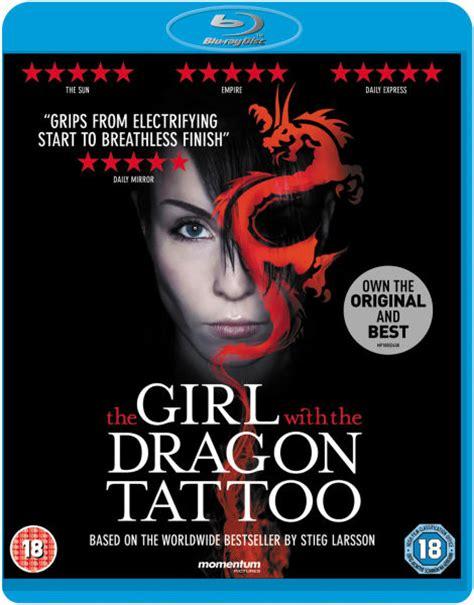 girl   dragon tattoo blu ray zavvi