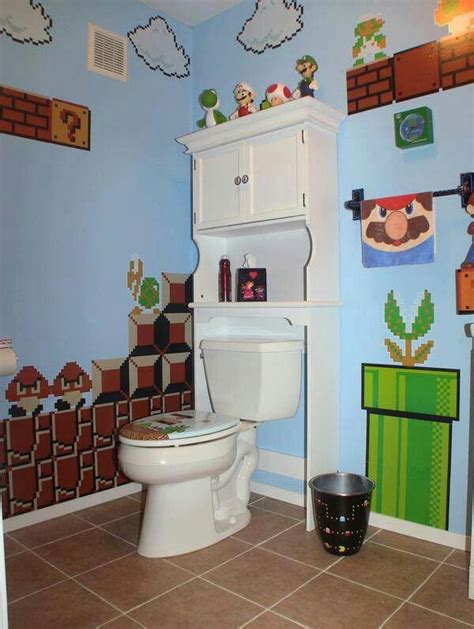 super mario bathroom crazy   cool