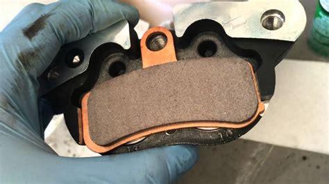 Front Brake Pad Replacement 11' Harley-davidson Fxdb