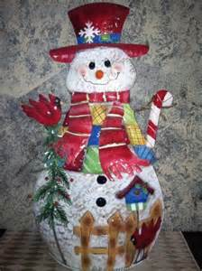 30 lighted musical metal frosty the snowman outdoor decoration christmas winter ebay