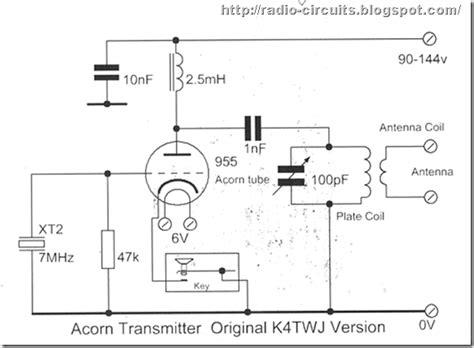 Radio Circuits Blog Acorn Valve Transmitter