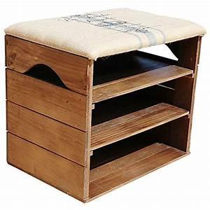 Meuble A Chaussure Banc : meuble chaussures banc id es de d coration int rieure french decor ~ Preciouscoupons.com Idées de Décoration