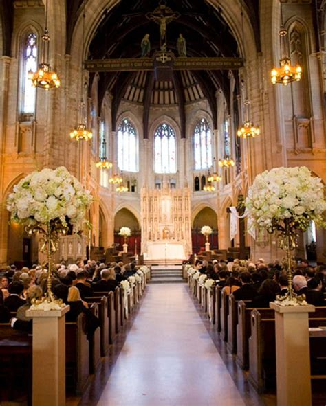 Glamorous Vintage Wedding Church Wedding Ceremony