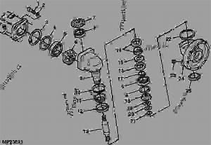 John Deere 4600 Tractor Parts Diagram