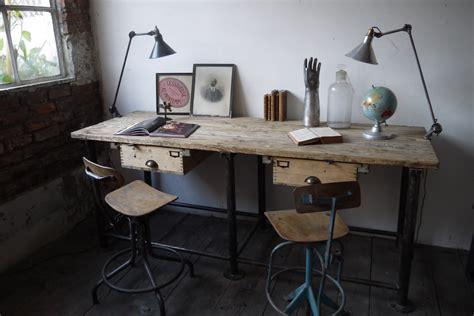 poste de travail bureau bureau industriel poste de travail metal et bois