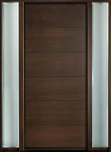 Entry Door in-Stock - Single with 2 Sidelites - Modern ...