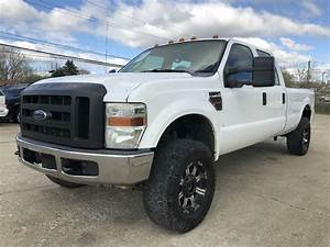 2008 Ford F350 Lifted Diesel 6 4 Powerstroke 4x4 Crew Cab