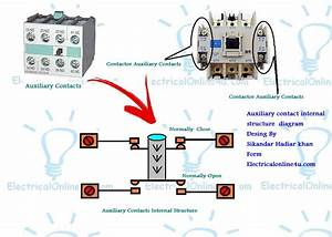 What Is Is Auxiliary Contacts And It U0026 39 S Working In Contactor