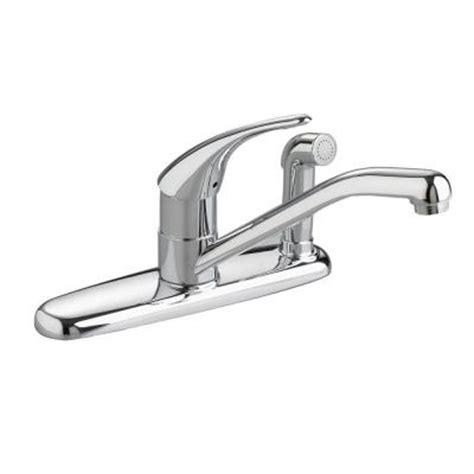 discontinued kitchen faucets standard cadet single handle side sprayer kitchen