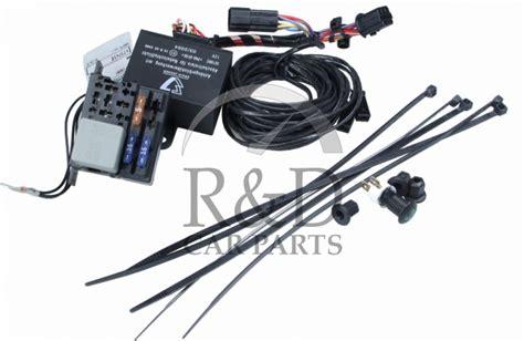 Cable Harness Kit Charging Signal Monitor Towbar Saab