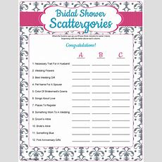 If You've Played Scattergories Before, You Know It's Time To Get Crazy Because Being Original Is