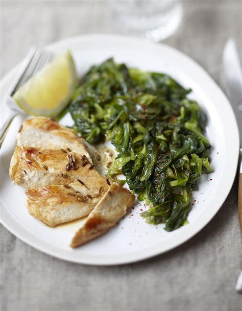 mâche sautée et poulet anisé pour 4 personnes recettes