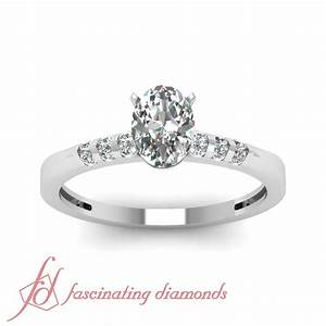 unique looking engagement ring channel set 065 ct oval With looking for wedding rings