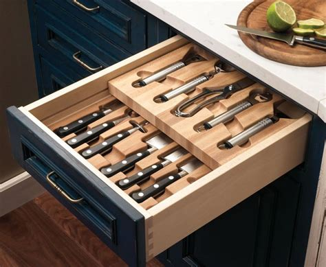 Kitchen Knife Drawer by 17 Best Images About Kitchen Knife Storage On