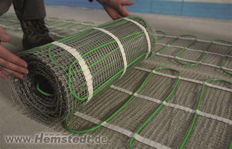 Elektrische Heizung Pro Und Contra by Fu 223 Bodenheizung