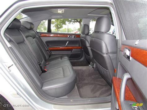 volkswagen phaeton back seat 2004 volkswagen phaeton v8 4motion sedan rear seat photo