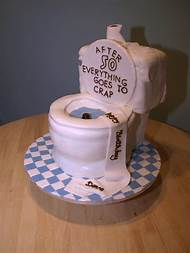 Funny 50th Birthday Cake Ideas