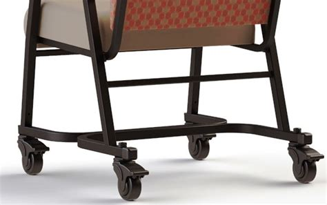 Bariatric Transport Chair 24 Seat by Comfortek Titan Bariatric Chair R941 24 W Casters
