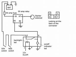 Starter  Ignition Switch Bypass Circuit Question