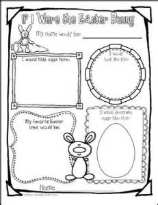 free language arts lesson if i were the easter bunny