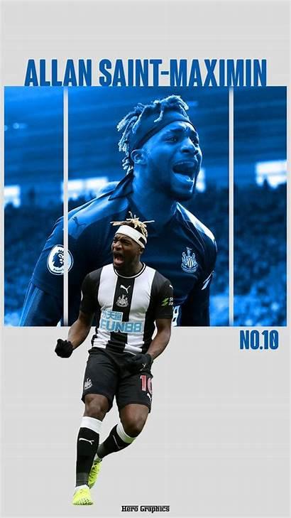 Maximin Saint Allan Newcastle United Soccer Football
