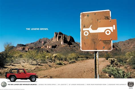 jeep wrangler ads jeep wrangler creative ad creative ads and more